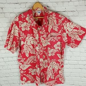 Vintage Reyn Spooner Hawaiian Shirt in Red/Tan